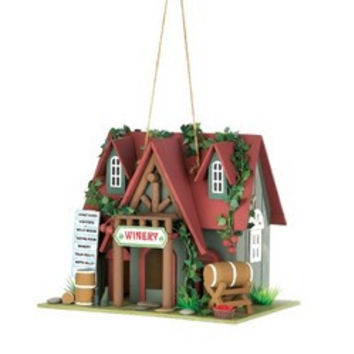 Wine Tasting Birdhouse (pack of 1 EA)