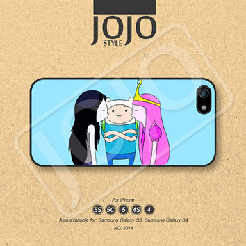 iPhone 5 Case, iPhone 5c Case, iPhone 4 Case, iPhone 5s Case, iPhone 4s Case, Disney Adventure time, Phone Cases, Phone Covers - J014