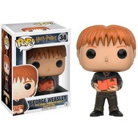 FUNKO POP! MOVIES: HARRY POTTER - GEORGE WEASLEY - Walmart.com