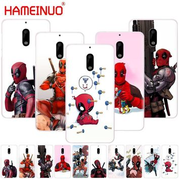 Deadpool Dead pool Taco HAMEINUO  Super Cool Marvel  cover phone case for Nokia 9 8 7 6 5 3 Lumia 630 640 640XL 2018 AT_70_6