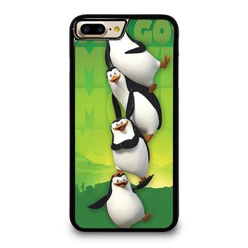 THE PENGUINS OF MADAGASKAR all character iPhone 4/4S 5/5S/SE 5C 6/6S 7 8 Plus X Case