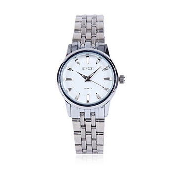 Damara Ladies' Silver Tone Strap Stainless Steel Watch