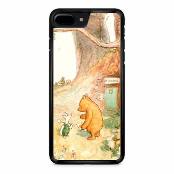 Winnie The Pooh Clasic iPhone 8 Plus Case