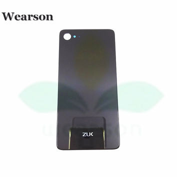 For Lenovo ZUK Z2 Back Glass Cover ZUK Z2 Battery Cover Glass With Sticker 100% Original New Free Shipping With Tracking Number