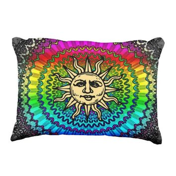 Sunny Accent Pillow