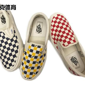 Vans Vault OG Classic slip-on LX CANVAS Running Shoes 35-43
