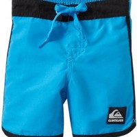 Quiksilver Baby Boys' Og Scallop Solid, Cyan, 24 Months