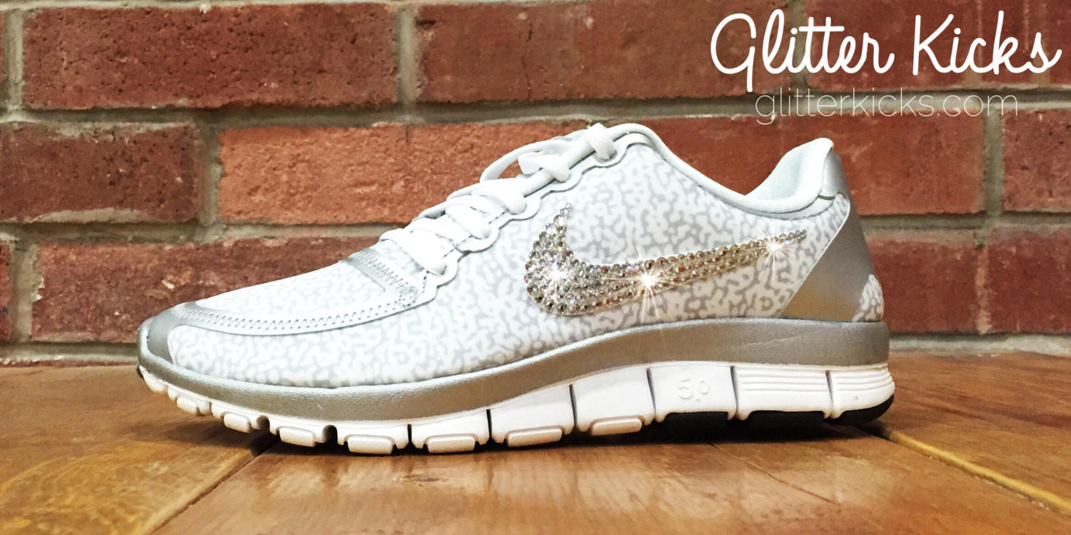 Nike Free Run 5.0 V4 PT By Glitter Kicks from Glitter Kicks d5668d689