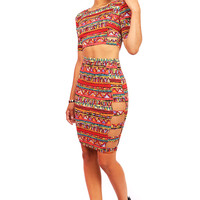 Tribal Tempo Two Piece - Two Piece Sets at Pinkice.com