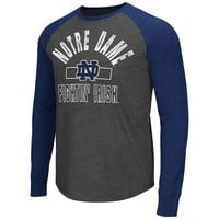 Colosseum Notre Dame Fighting Irish Hammer Raglan Tee