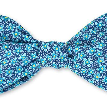 Speckle Liberty Floral Bow Tie - B4203
