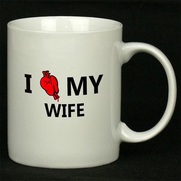 Wifey Design For Ceramic Mugs Coffee *