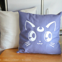 [Sailormoon] Luna & Artemis Cushion Covers