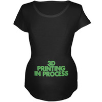 3D Printing Maternity Soft T Shirt