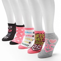 R5 Lets Get Loud 5-pk. Low-Cut Socks - Women