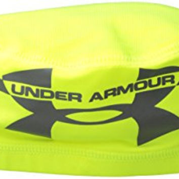Under Armour Men's Mesh Skull 2.0 Cap, High-Vis Yellow/Graphite/Graphite, One Size