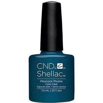 CND - Shellac Peacock Plume (0.25 oz)