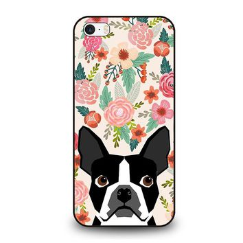 BOSTON TERRIER DOG BREED iPhone SE Case Cover