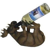 Rivers Edge Wine Bottle Holder (Moose)