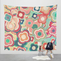 All the Pretty Colors - 2 Wall Tapestry by Micklyn