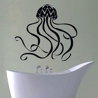Wall Decal Vinyl Sticker Animal Jellyfish Medusa Sea Ocean Decor Sb399