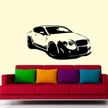 Hamann Imperator Bentley, luxury car Vinyl Design -Vinyl Decal - Wall Art