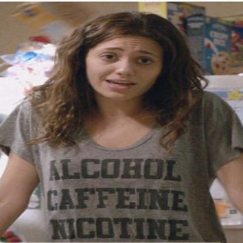 "Shameless ""Alcohol Caffeine Nicotine"" Shirt"