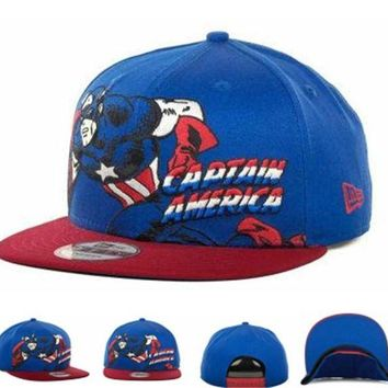 DCCKUN7 Marvel Character Hero Stance Snapback 9fifty Cap1 Cap Snapback Hat - Ready Stock