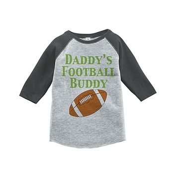 Custom Party Shop Boy's Novelty Football Vintage Baseball Tee