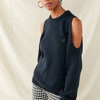 Urban Renewal Recycled Cold-Shoulder Sweater | Urban Outfitters