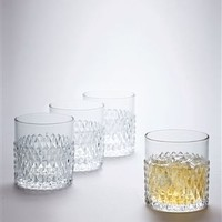 Buy Set Of 4 Embossed Short Tumblers from the Next UK online shop