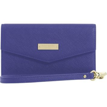 kate spade new york - Saffiano Wristlet for Apple® iPhone® 6 Plus - Emperor Blue