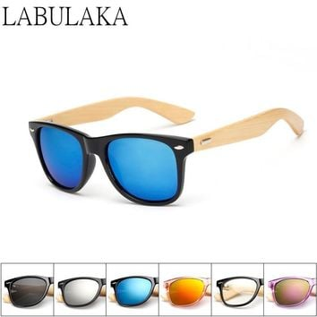 Wooden bamboo sunglasses for men and women