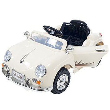 Ride On Toy Car, Battery Operated Classic Sports Car With Remote Control and Effects – Toys for Boys and Girls 2  – 5 Year Olds