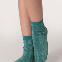 American Apparel - Sparkle Calf-High Sock