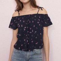 Off Shoulder Swing Top