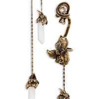 Alexander McQueen Iris Asymmetrical Drop Earrings | Nordstrom