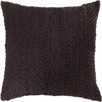 Throw Pillow - Purple Scale Pattern