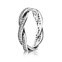 PANDORA Twist of Fate Ring - Size 4.5