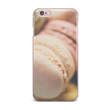 "Laura Evans ""Macaroon Goodness"" Pastel Food iPhone Case"