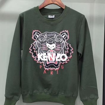 ''KENZO''Women Fashion Casual Long Sleeve Sport Top Sweater Pullover Sweatshirt