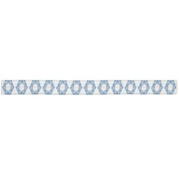 Blue Diamonds Elastic Hair Tie