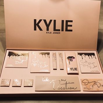 [Big Sale+Free Shipping]Kylie Jenner | Take Me On Vacation Edition | Matte Liquid Lipstick Lip Gloss Makeup Set