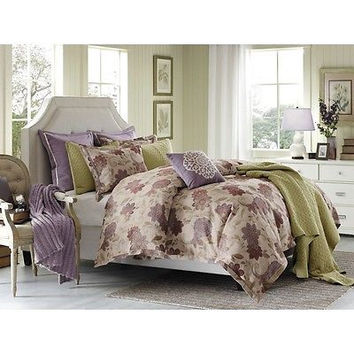 Hampton Hill Evie 7 Piece Comforter Set - Multi - King