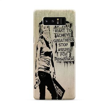 Banksy Art Samsung Galaxy Note 8 Case