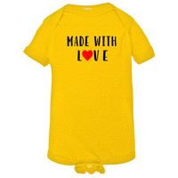 Made with Love Baby Onesuit - Infant Romper - NB 6m 12m 18m 24m