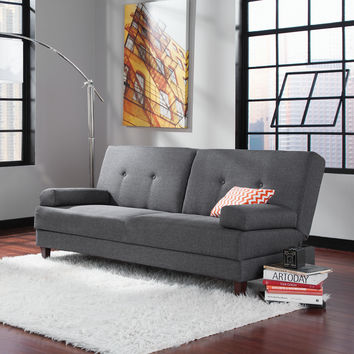 Sauder Premier Carver Convertible Sleeper Sofa