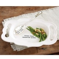 Green Bean Casserole Set by Mud Pie