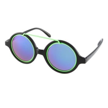 Jeepers Peepers Cloud Round Sunglasses - Black
