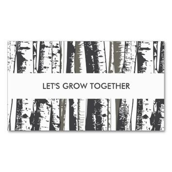 referral program aspen trees business card